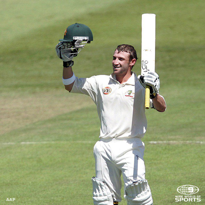 We remember Phillip Hughes who sadly passed away on this day four years ago. ❤️   #63NotOut