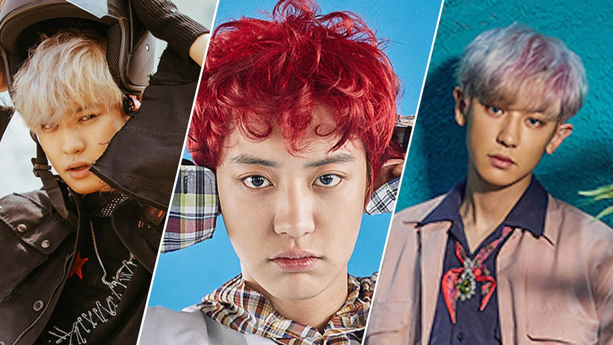 In honor of Chanyeol's birthday, we're looking back at his best @weareoneexo beauty moments. https://t.co/y5QPpY3OTw