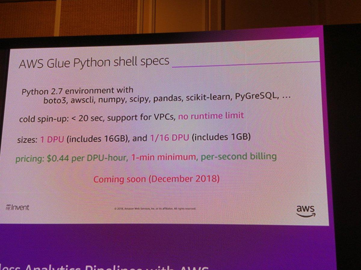 Aws Glue Python 3
