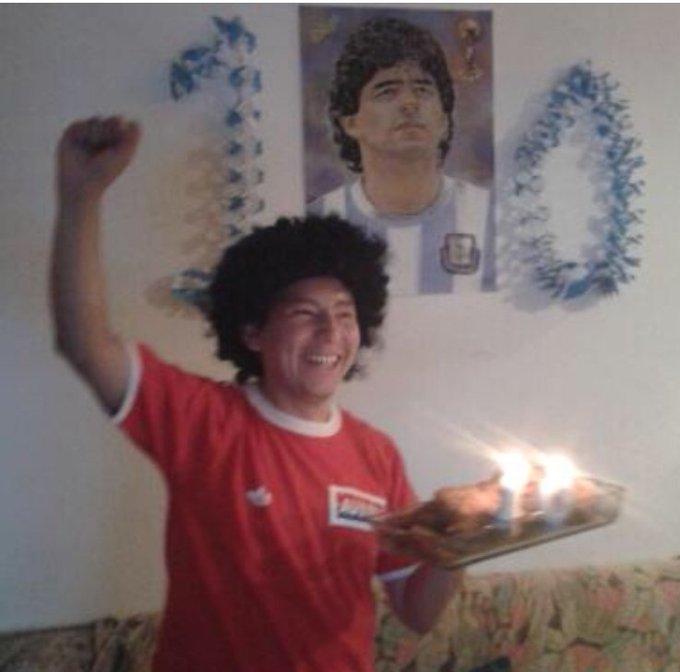 Comparte este Pelusa de la Suerte para que hoy @Dorados se quede con el partido de ida #MaradonaxESPN @ESPNDeportes Photo