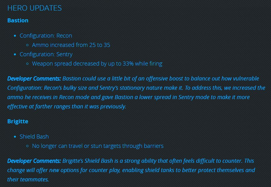 patch notes overwatch november 2018