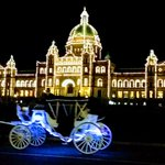 Image for the Tweet beginning: Good night from Victoria, Canada!  #travel