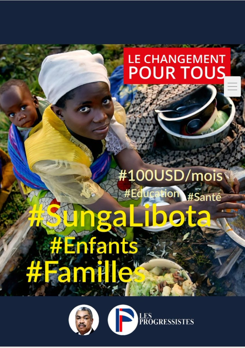Image for the Tweet beginning: Le #changementpourtous #RDC C'est clair et