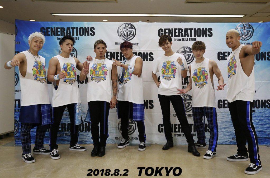 #GENERATIONS LIVE TOUR 2018#UNITEDJOURNEYが、いち早く観れる?#WOWOW 独占放送まであと3日❗️