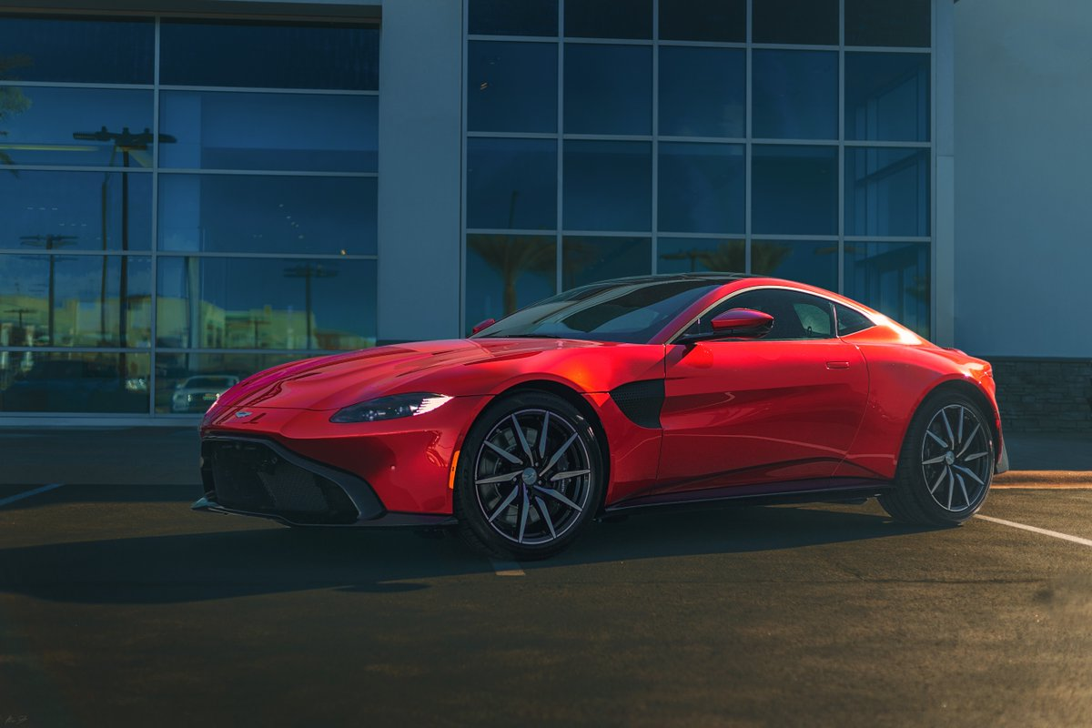 Astonmartin Az On Twitter Our Hyper Red Aston Martin Vantage Is Looking Particularly Appealing This Holiday Season Come By To Take A Look