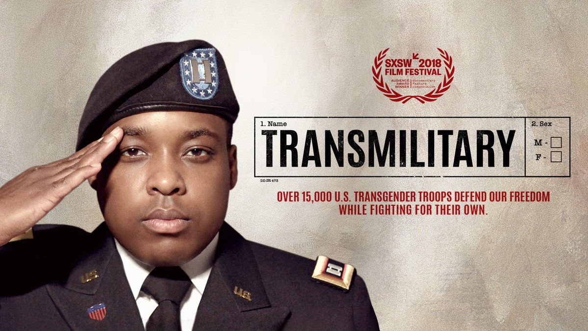 My good friend (and West Point grad) Army Captain El Cook is one of six individuals profiled in the new award-winning documentary @TransMilitary, debuting tomorrow night 11/15 on @LogoTV at 8pm ET/PT! WATCH this important film to #SupportTransTroops this #TransAwarenessWeek <br>http://pic.twitter.com/KUuQQKxzCp