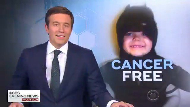 """GOOD NEWS IN GOTHAM: Five years ago, cancer patient Miles Scott memorably transformed into San Francisco's """"Bat Kid,"""" winning the hearts of the city.  Miles, now 10 years old, has been declared cancer-free."""