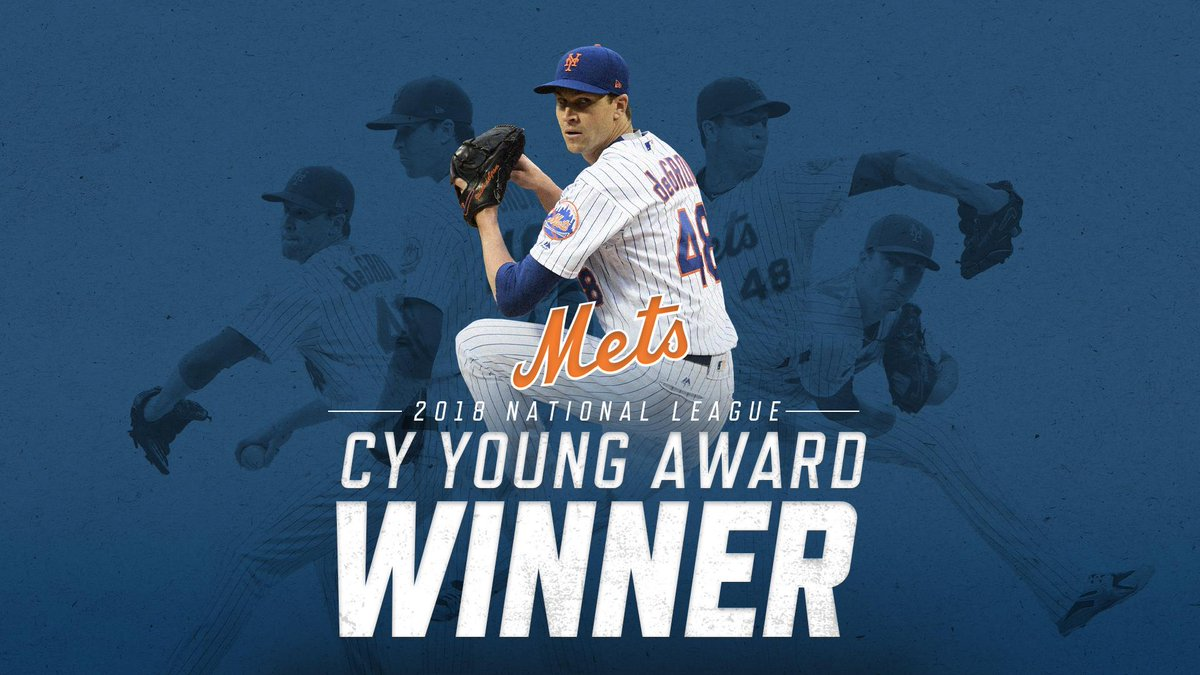 PAY THIS MAN!!! #DeGrom #NYM #NLCyYoung Winner! 29/30 1st place votes <br>http://pic.twitter.com/DRwKNOpXFu
