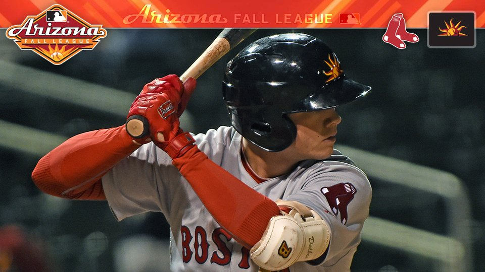 #RedSox No. 6 prospect Bobby Dalbec got on base early and often in AFL action.  📰: https://t.co/ZlRAswZNJB