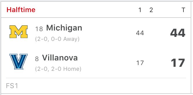 Michigan getting revenge in this national championship game rematch ... 😳