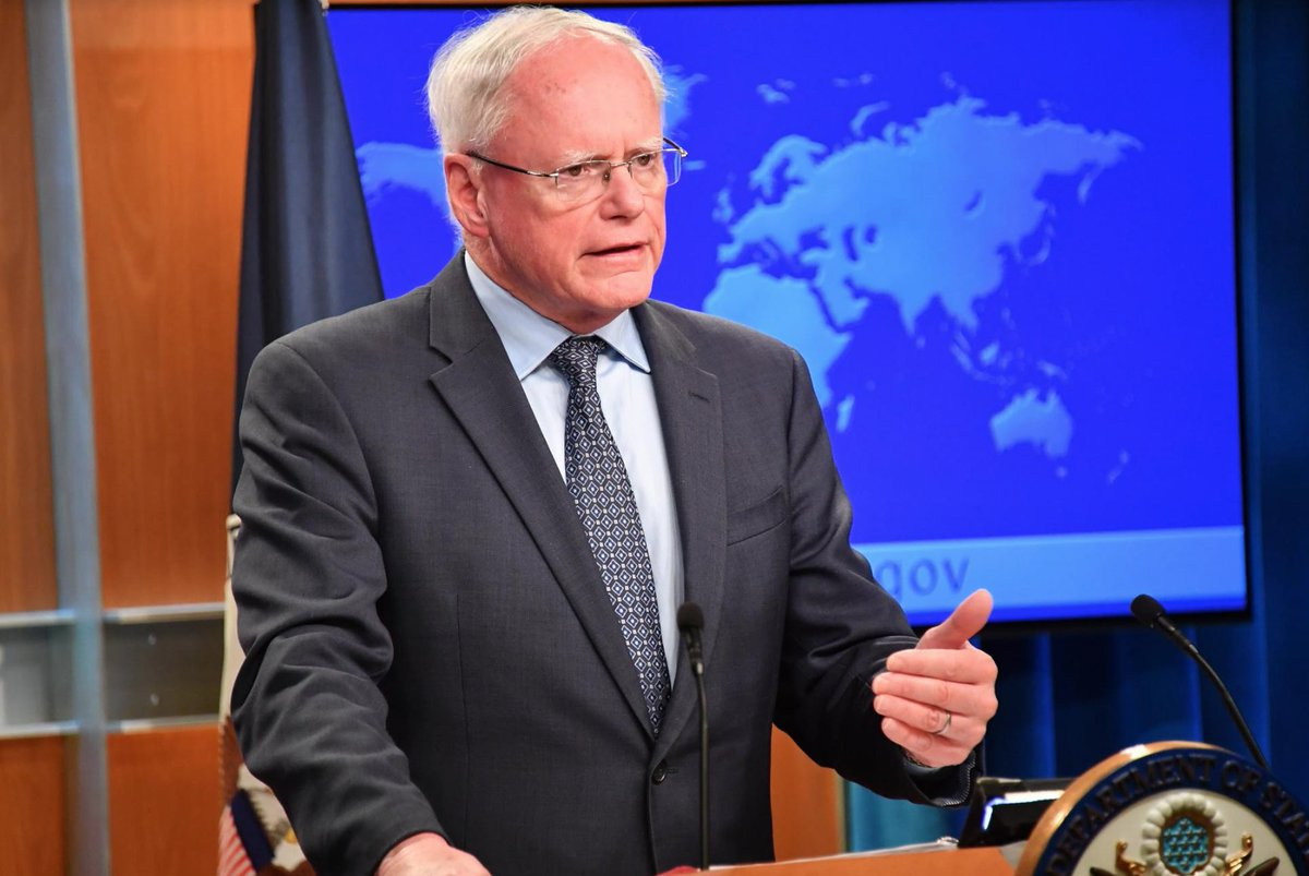Special Representative for Syria Engagement Ambassador James Jeffrey spoke to the media today highlighting U.S. goals in #Syria. Read his full briefing: https://t.co/XvlQCqAT4B