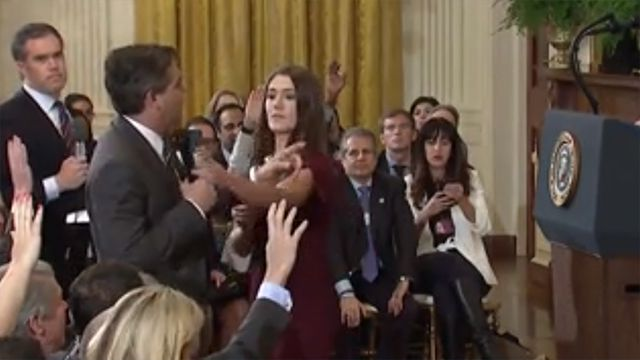In legal challenge, White House claims right to exclude 'grandstanding' CNN journalist Jim Acosta https://t.co/eJYEHVCizo
