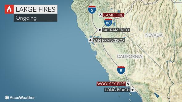 Firefighters battling the numerous deadly and destructive blazes across California may finally receive some relief from Mother Nature early next week in what may become one of the most costly weather and climate disasters in United States history: https://t.co/jXnX7dzD0A