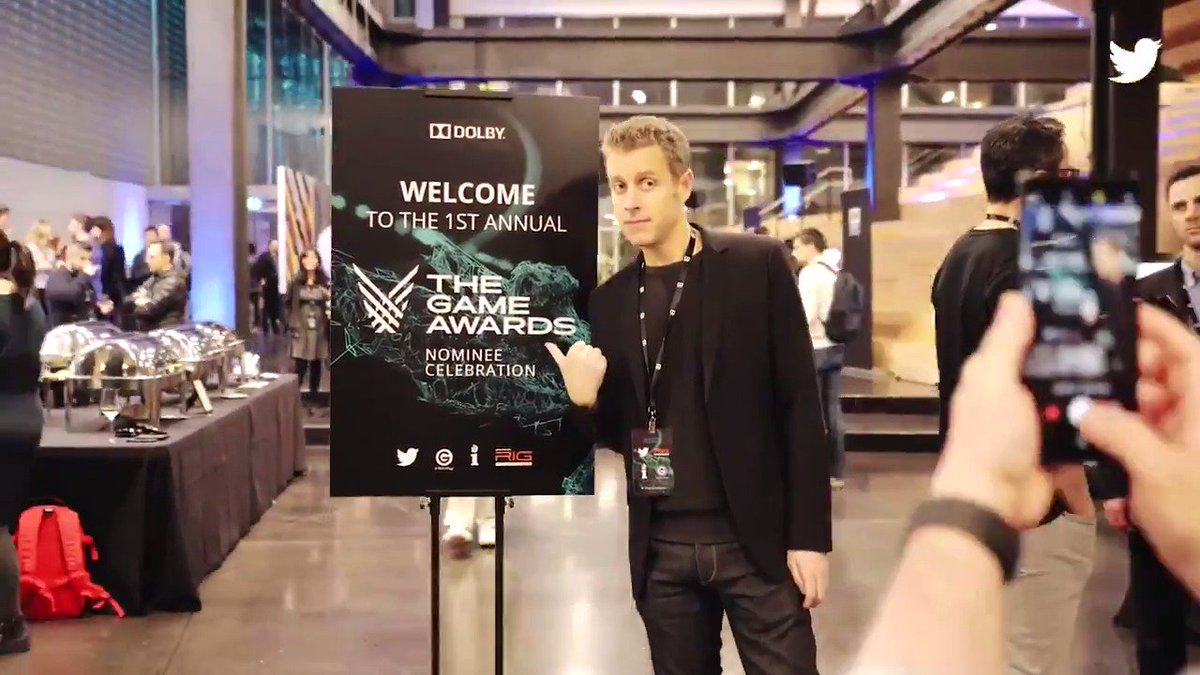 Last night we visited @Dolby to help celebrate the #TheGameAwards nominees with @geoffkeighley. This years awards are really shaping up to be the best @thegameawards ever, so dont forget to vote for your favorite nominees! Is it Dec 6th yet?!