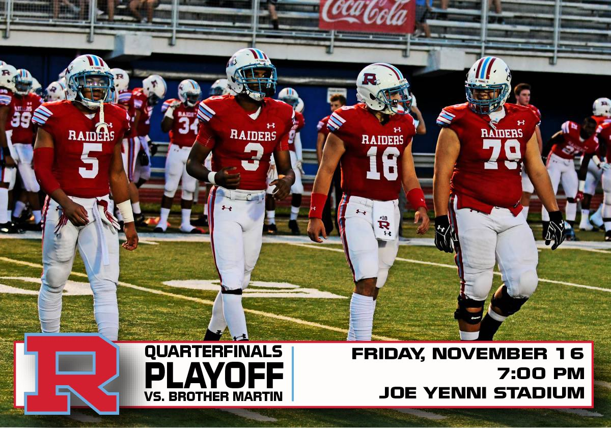Archbishop Rummel Hs On Twitter Who S Ready For The Big Playoff