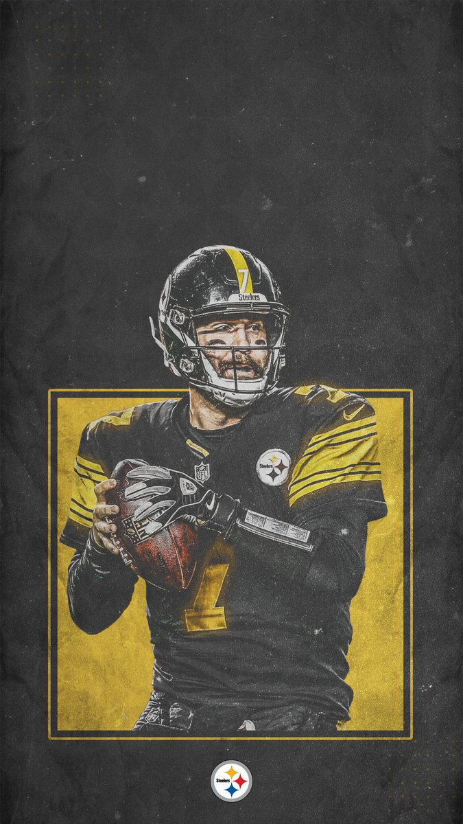 RT @steelers: 🖤📱💛 #WallpaperWednesday https://t.co/gpcmBNqzwM