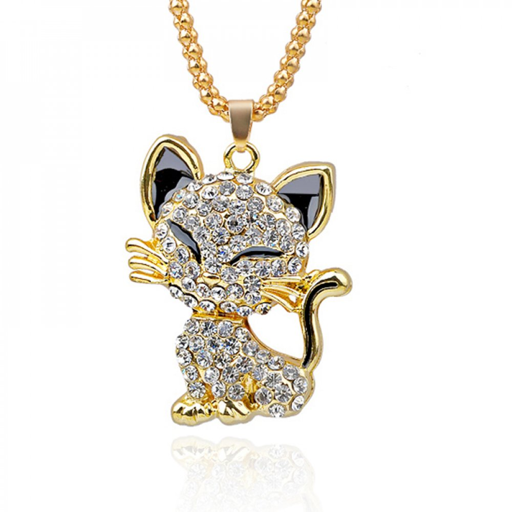 #kittens #catsdaily #catsofinsta #linesticker Cat Necklace For Women Gold Filled Enamel Crystal Long Sweater Chain Necklaces  Get it here ---&gt;  https:// shopyzo.com/cat-necklace-f or-women-gold-filled-enamel-crystal-long-sweater-chain-necklaces/ &nbsp; … <br>http://pic.twitter.com/5Q6QzGRBdq