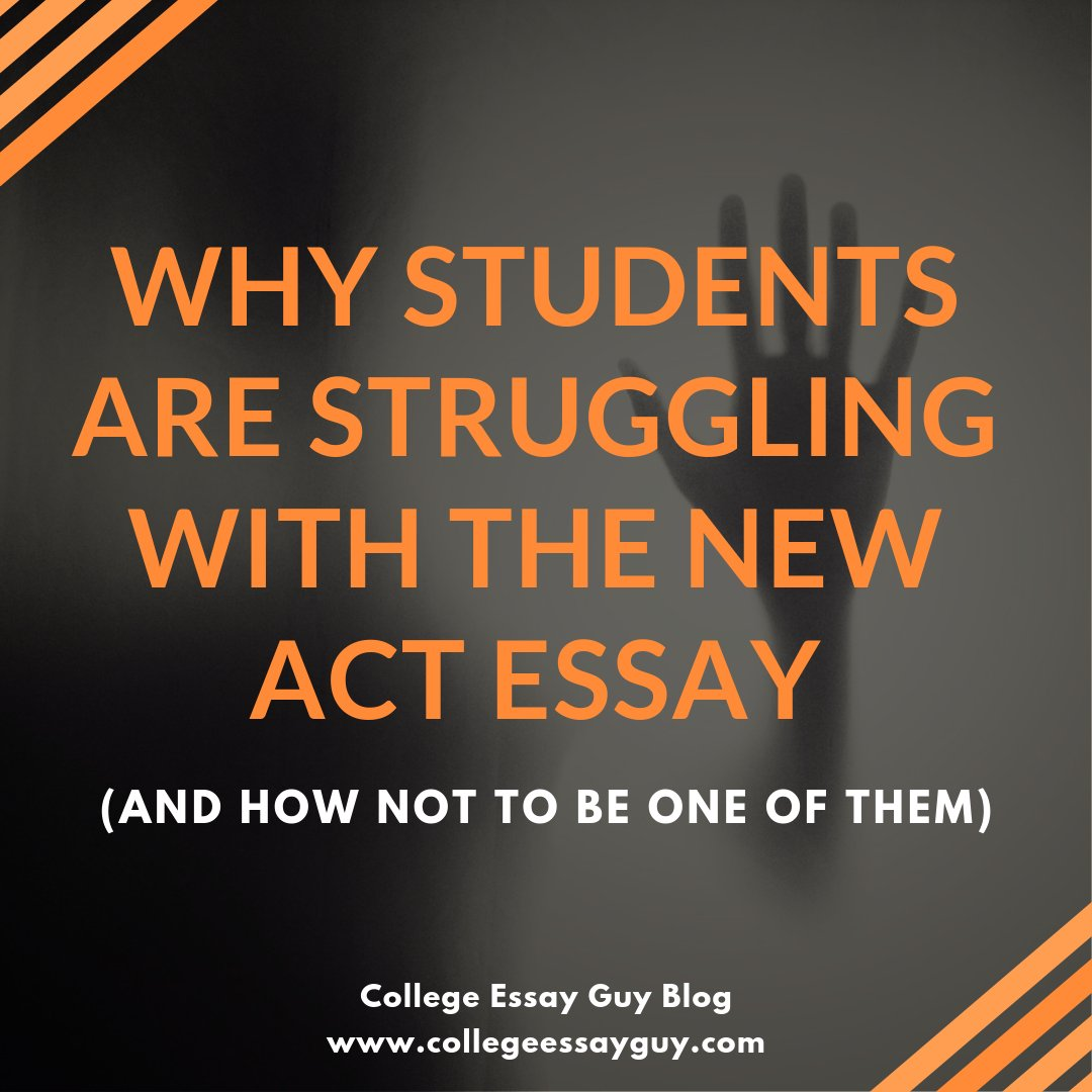 The ACT essay prompt asks students to do a lot in 40 minutes. Here's how to structure the essay: tinyurl.com/yaxeall3 via @MagooshSAT_ACT