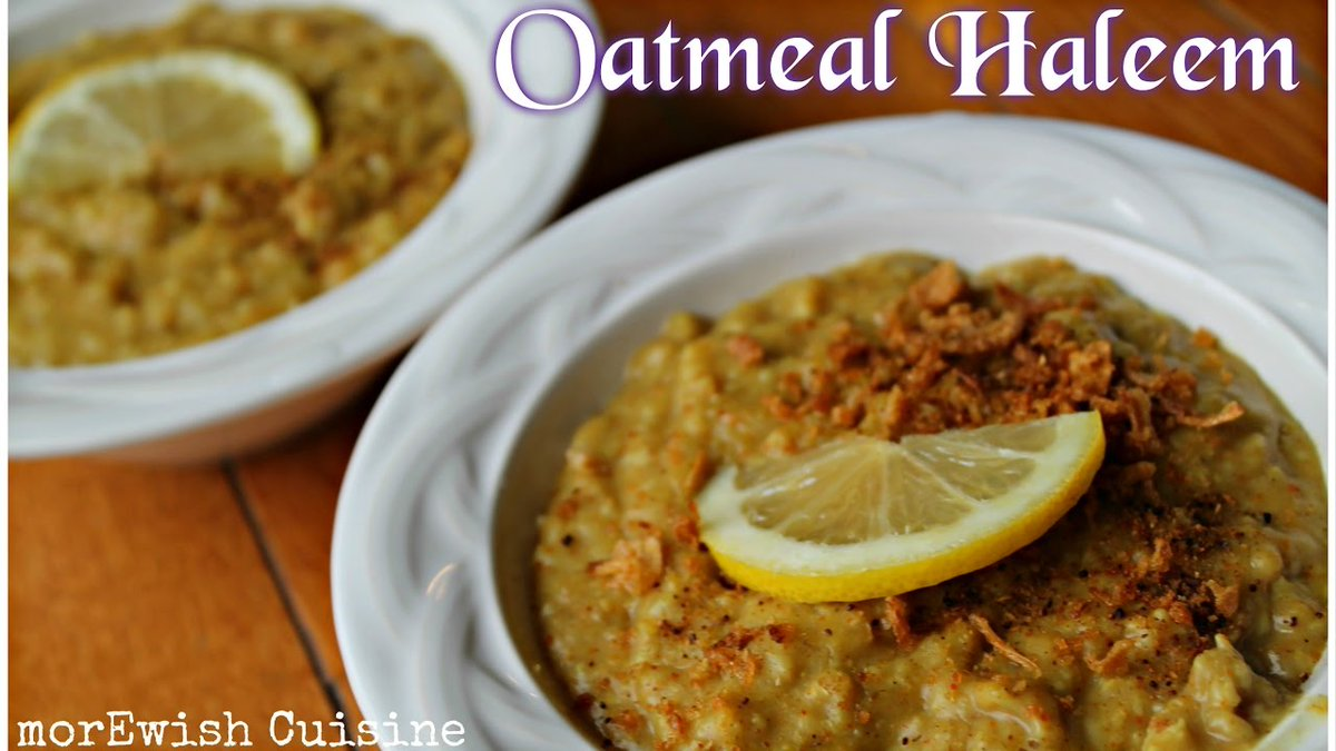 https://t.co/7zOPEX3vlg - Oatmeal Haleem recipe | Weight watchers recipe by morEwish https://t.co/YUgiN0F0yb