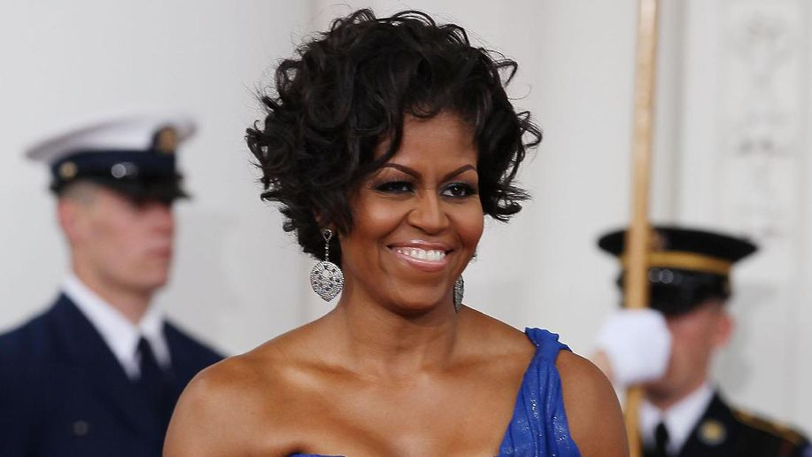 detikcom's photo on Michelle Obama