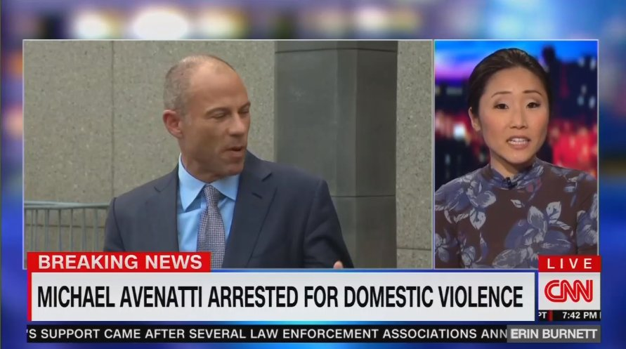After appearing over 200 times on their networks, @CNN and @MSNBC downplay Michael Avenatti's domestic violence charges https://t.co/dUUvcKrbhc
