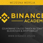 Image for the Tweet beginning: #Binance Academy jest już dostępne