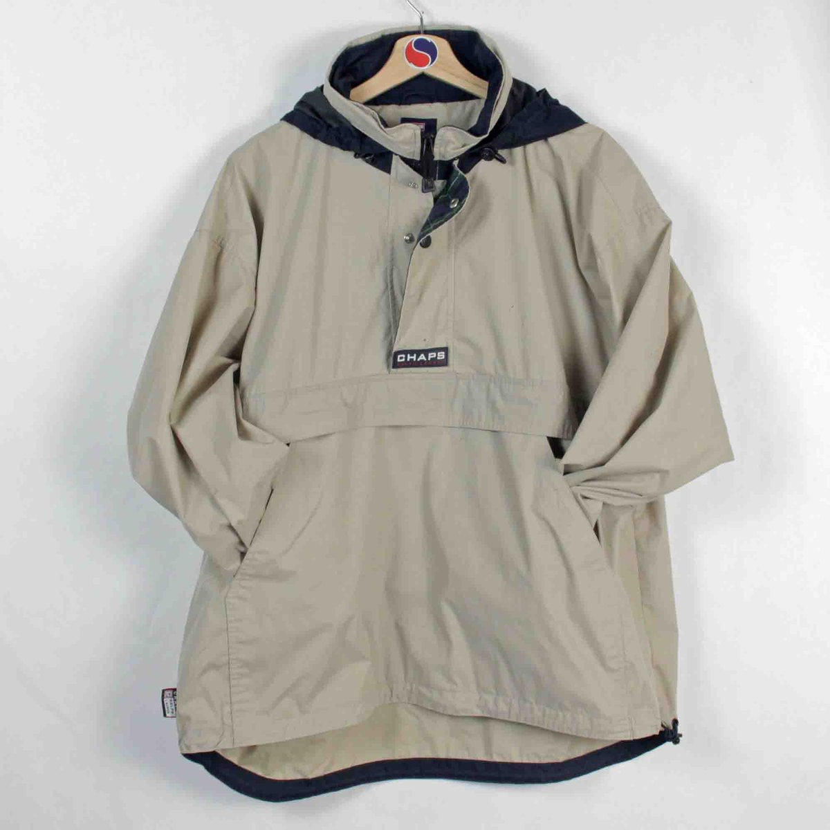 6cc1a261 $50 CAD Free Shipping: https://www.offsuitedvintage.com/product-page/chaps- ralph-lauren-pull-over-windbreaker-l … #ChapsRalphLauren #Fashion #Clothing  ...
