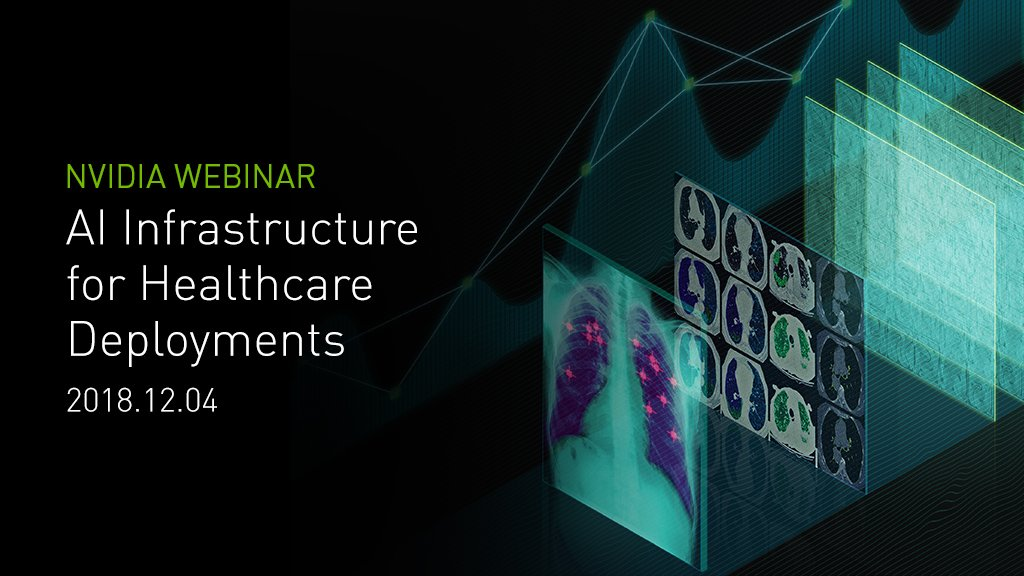 test Twitter Media - #AI is reshaping life sciences, medicine & healthcare. GPU-accelerated #Deeplearning solutions are enabling a new era of biomedical advancements. Join this webinar & learn how #Deeplearning & AI are driving advances in healthcare, medical research & more! https://t.co/aGOK4VKm5N https://t.co/FJj7ovo8X2