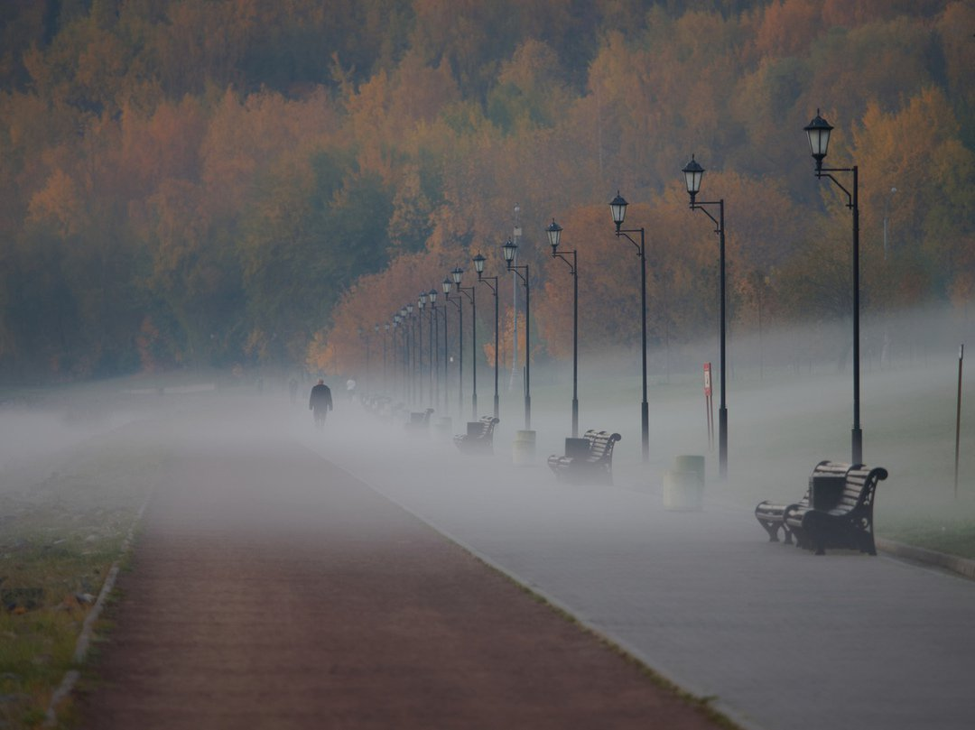 туман и архитектура фотографии недостаточность, тромбофлебит