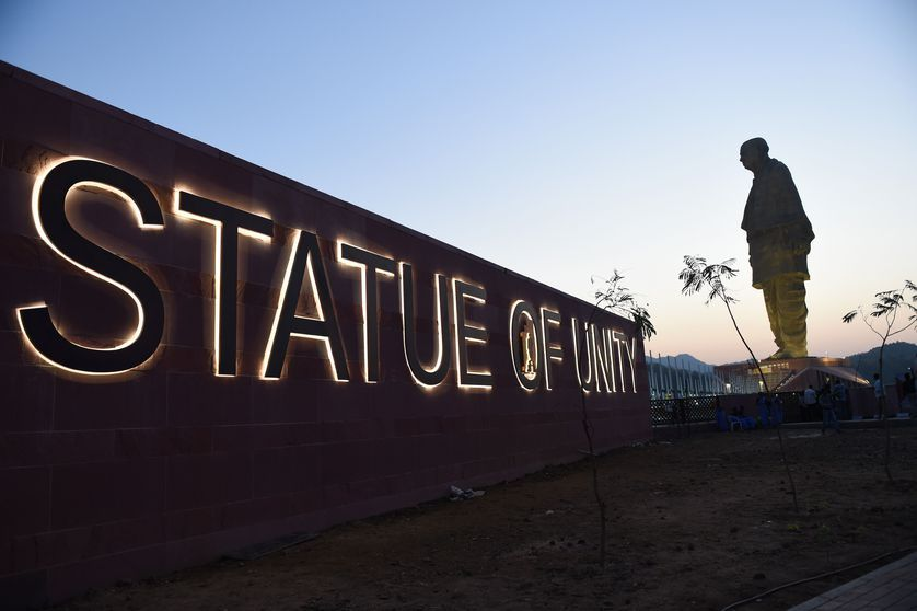 At 597 feet, new Statue of Unity in India is a record-breaking colossus https://t.co/5tqWrHrWnW