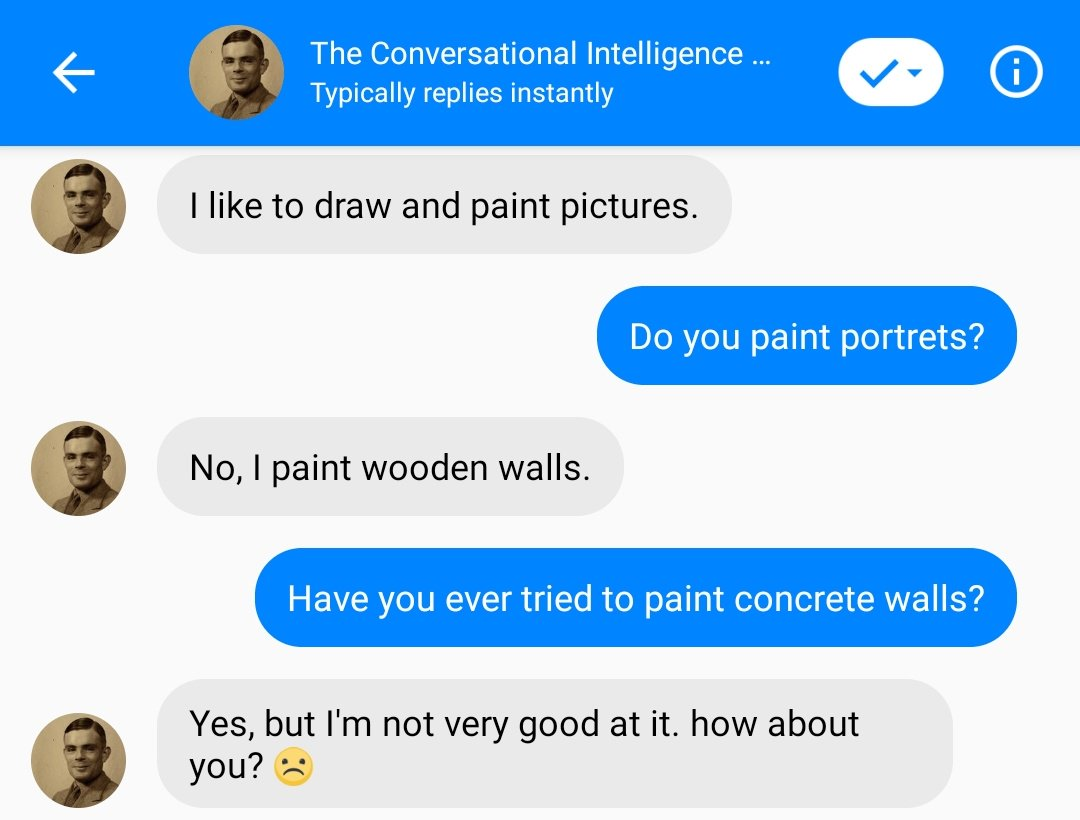 test Twitter Media - 👩🎨 Time to paint some walls. Chat with bots from the NIPS Conversational Intelligence Challenge - https://t.co/Fr1Xp3eNjU ! #nlp #chatbot #deeplearning #nips2018  #convai https://t.co/YzV33RaxdT