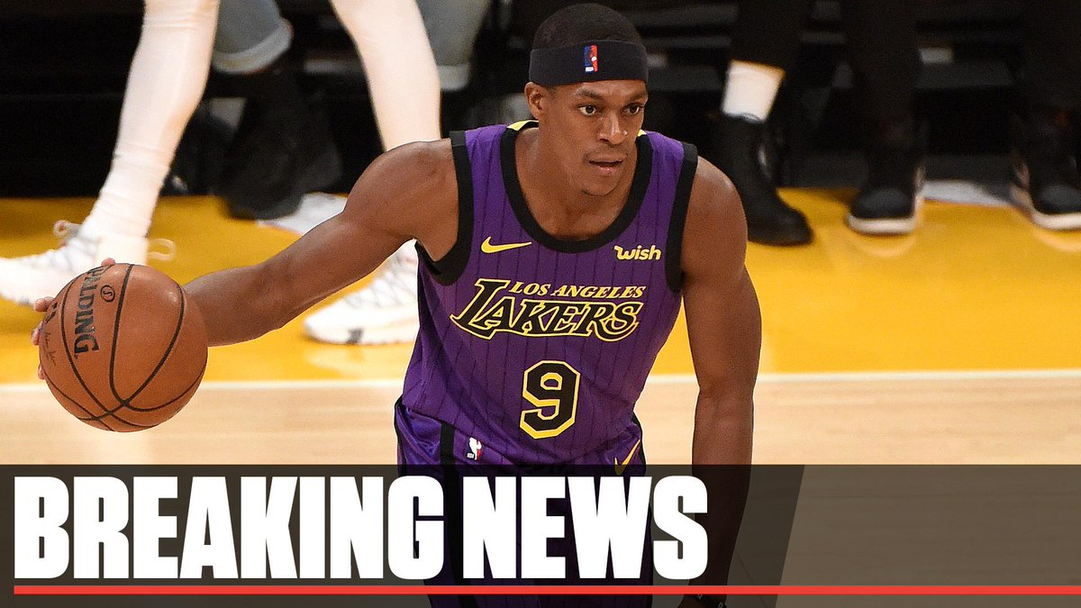 Breaking: Rajon Rondo is expected to be out for an extended period of time with a fractured hand.
