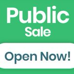 Image for the Tweet beginning: The #BitCanna public sale is