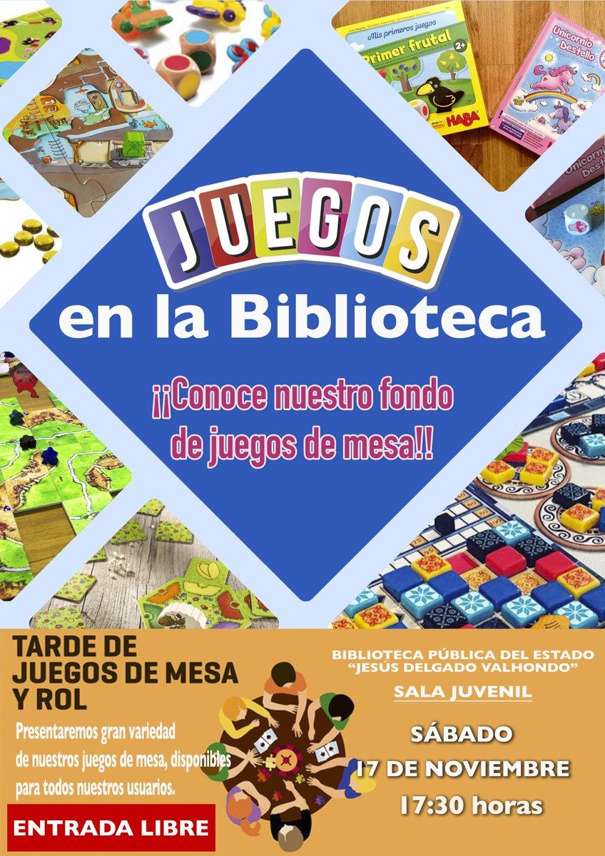Biblioteca Merida On Twitter Actividad Ven A Jugar Con