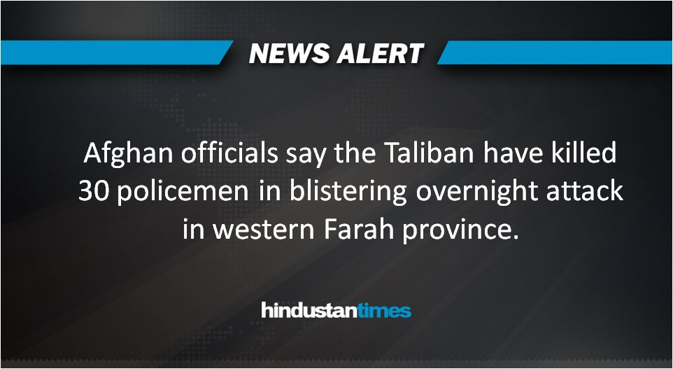 #HTNewsAlert | For more on this, visit https://t.co/o0DfqOYtUN   #Afghanistan #Taliban