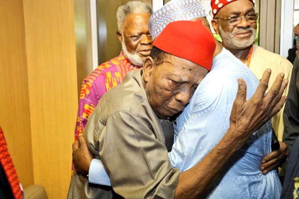 """Just don't believe anyone in their last days clamoring to """"Restructure"""" your  future. They don't embrace your fortune, they embrace your misery and adversity #TakeItBack cc: @MBuhari @atiku<br>http://pic.twitter.com/fknvzhbOJB"""