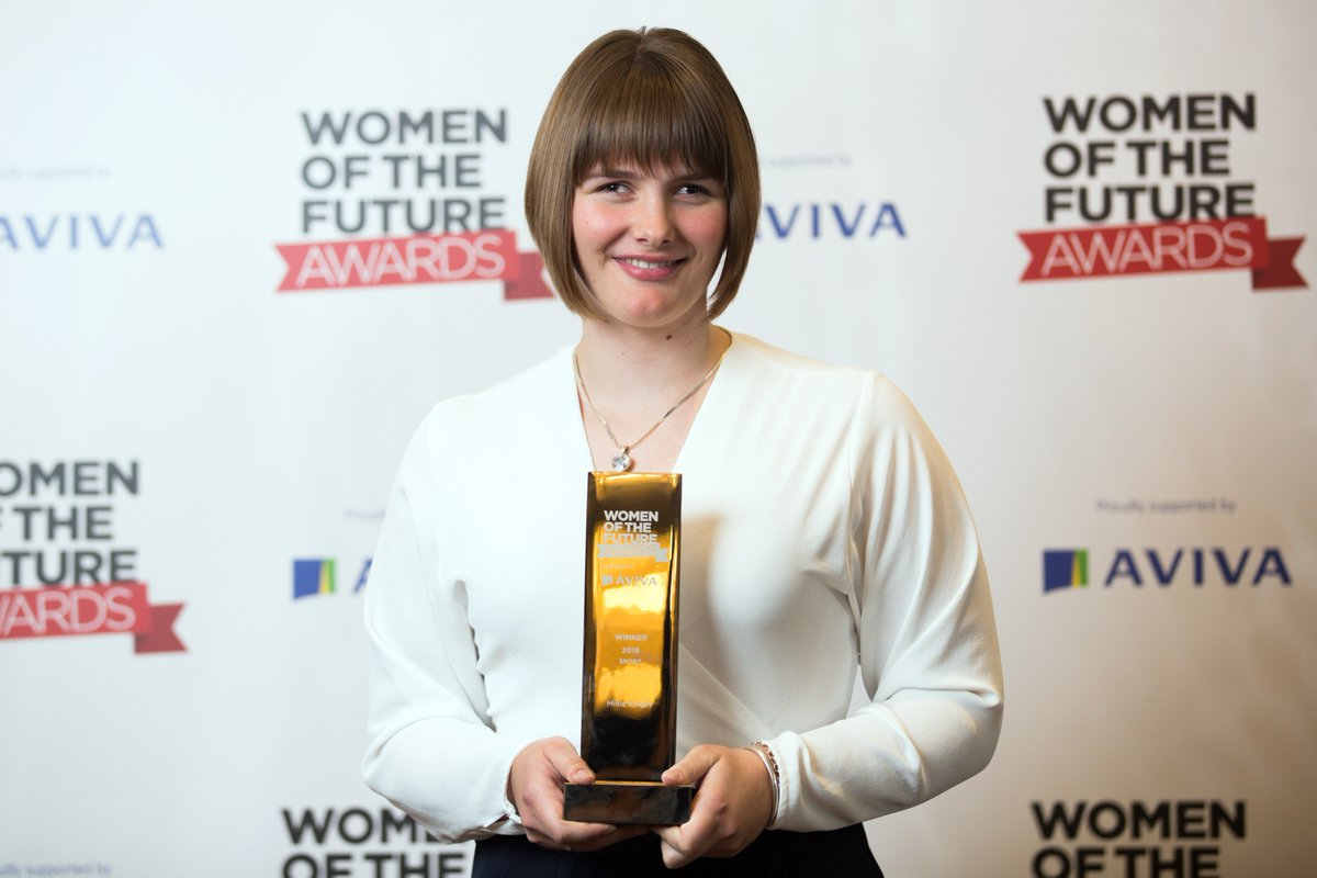 Big Congratulations to Millie Knight for winning the Women of the Future Programme Sport Award 2018 for her incredible achievements at the Winter Paralympic Games in South Korea with her guide Brett Wild  #WOFAwards #WOF2018<br>http://pic.twitter.com/ZHcR2gSuKu