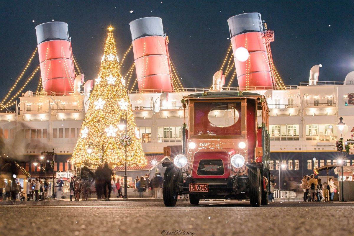 ディズニーシーのクリスマス?