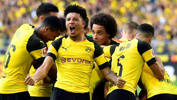Borussia #Dortmund in the #Bundesliga this season: WDWDWWWWDWW Goals: 33 Conceded: 13 Foto
