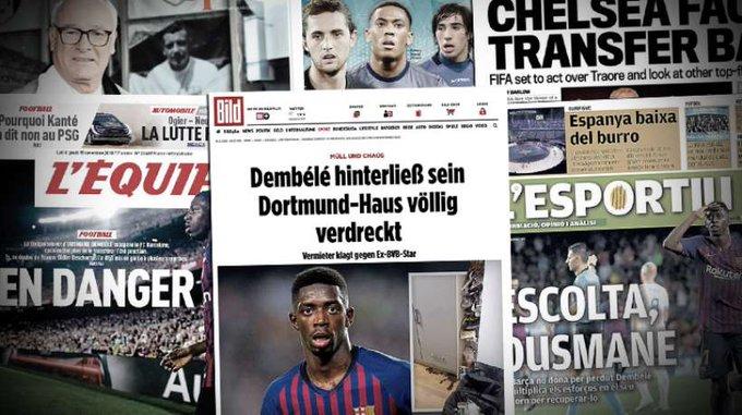 Ousmane Dembélé dejó huellas sagradas en Dortmund, batalla Juve-Inter por Adrien Rabiot y Anthony Martial () en Noticias de Futbol y Deportes en México y el Mundo Foto