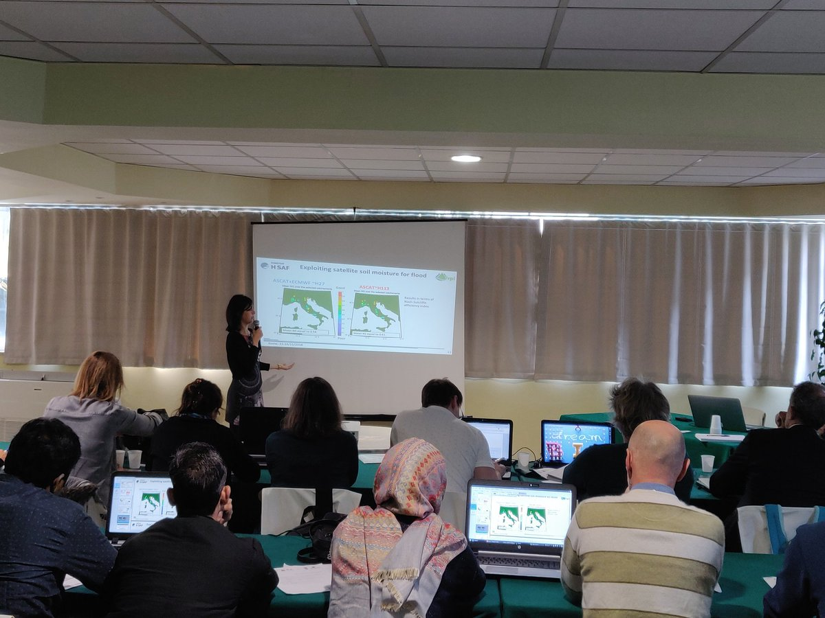 Hydrology IRPI-CNR  Hydrology IRPI. Day 3 started with Stefania Camici ... 4cb555a6b74c