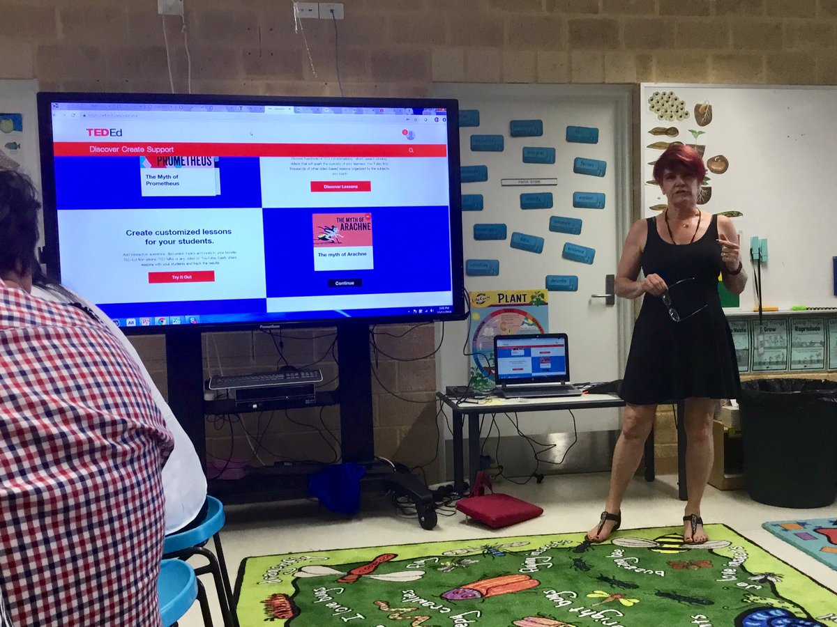 @janecas presenting about creating lessons with TedEd #wapln #tmwa