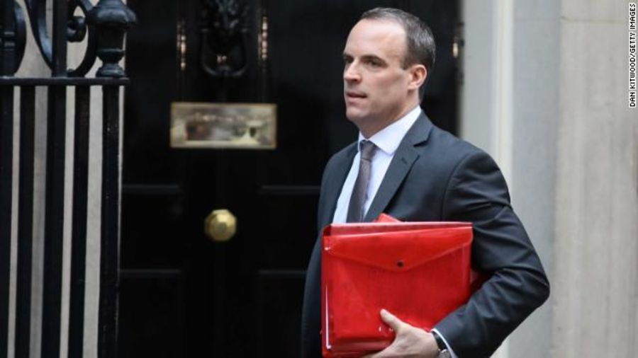 """Brexit Secretary Dominic Raab has resigned. In a statement he's said he """"cannot in good conscience support the terms proposed for our deal with the EU."""" https://t.co/ZCvyDdz0IQ"""