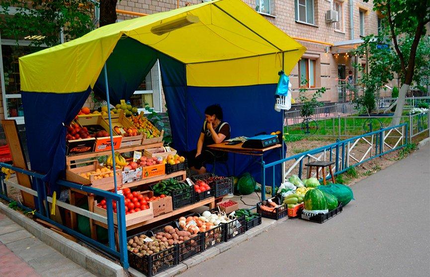 Уличная торговля в картинках