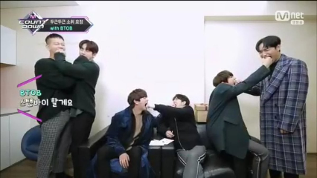 What to do with these brats, Seo Eunkwang? Hahahaha #BTOB #아름답고도_아프구나<br>http://pic.twitter.com/DVnskY2xRO
