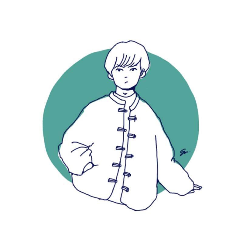 RT @sushiko_sushio: ヤマサキセイヤのアウターかわいかったな、という気持ちで描いたアウターのかわいいひと。 https://t.co/qUoLw1kMiW
