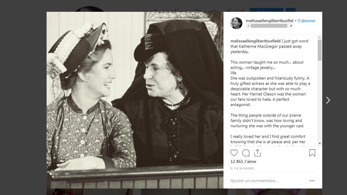 Katherine MacGregor, l'acariâtre Mrs Oleson de 'La Petite Maison dans la prairie', est morte  https://t.co/tBxTYlLGKD