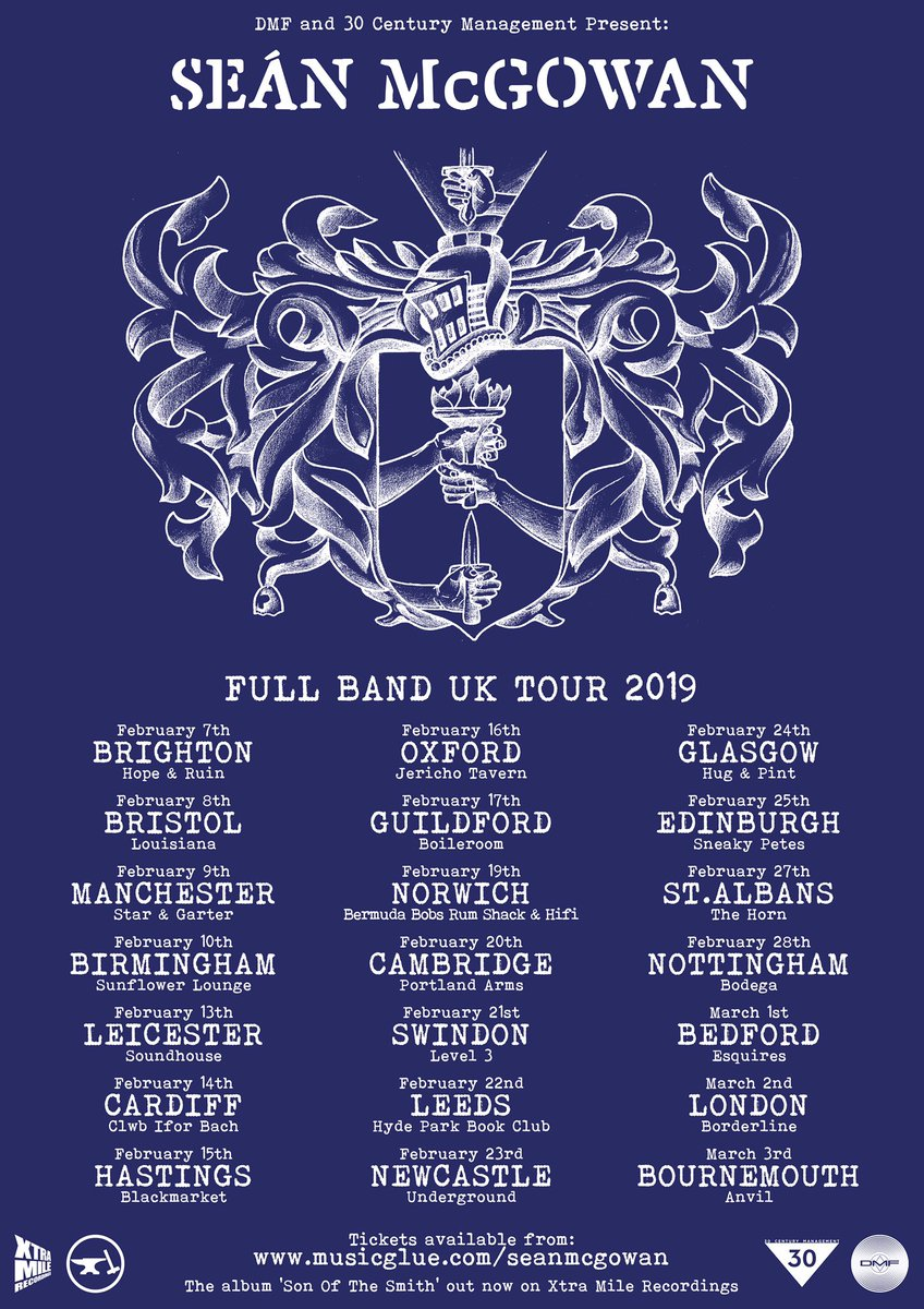 FULL BAND UK TOUR 2019. ON SALE TOMORROW 10AM. Ask and you shall receive, friends. Well be seeing you soon. X