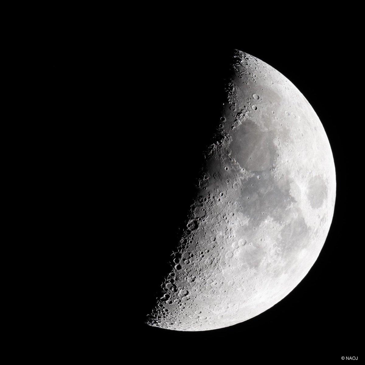 最近「月面X」として話題の月面の領域を撮ってみました。現在、国立天文台本部のある三鷹は天気が良く、月が綺麗に見えます。月の地形をじっくり見るのも楽しいものですね。この機会にぜひ月の観察をしてみてください。 #国立天文台 #月 #月面X面X
