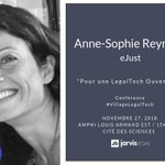 Image for the Tweet beginning: Anne-Sophie Reynaud, Experte en communication